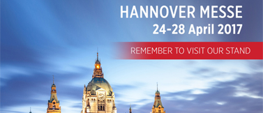 We`ll take place at Hannover Messe Exhibition between in this April 24 - 28.