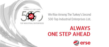Erse Kablo Continues to Rise Among The Turkey`s Second 500 Top Industrial Enterprises List