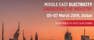 We`ll take place at Dubai Middle East Electricity Exhibition between in this March 05 - 07.