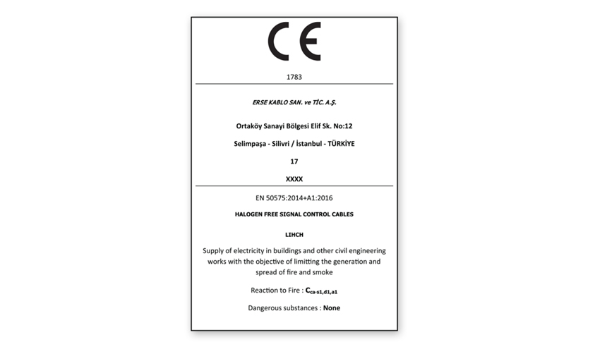 Declaration Of Performance Dop Ce Marking And Labeling